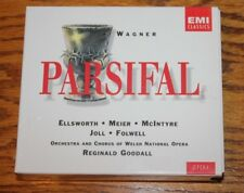 RiICHARD WAGNER: PARSIFAL 4 CD OPERA SET IN EXCELLENT CONDITION!  FREE SHIPPING!