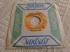 MARY-LOU BUTTONS  THE ELEPHANT SONG/COUNTRY KANGAROO  LONDON 167 PROMO