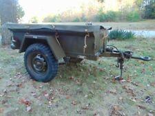 1967 M416 1/4 Ton Jeep Trailer Us Army