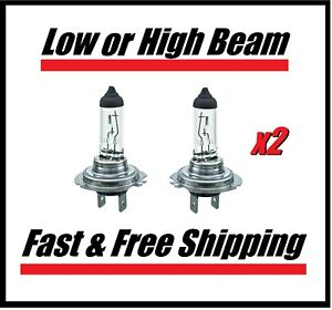 Stock Fit Headlight Bulb for BMW 3 Series 2001-2017 Low or High Beam Set of 2
