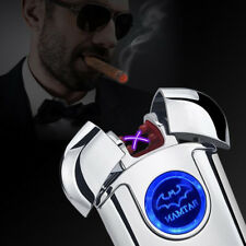 The Inferno BATMAN DUAL Plasma Lighter - No Gas, Wind&Water proof, Rechargeable
