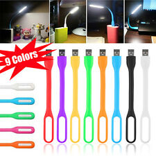 Flexible USB LED Light Lamp for Computer Keyboard Reading PC Laptop Notebook LT