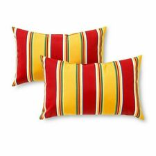 Greendale Home Fashions 19 x 12 in. Rectangle Outdoor Accent Pillows - Set of 2