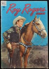 Roy Rogers Comics Volume 1 Issue #7 Dell Photo Cover Comic Book