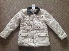 Next girls padded quilted coat jacket 11-12 years BNWT