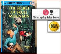 BRAND NEW The Hardy Boys The Secret of Skull Mountain Book 27 HARDCOVER FW Dixon
