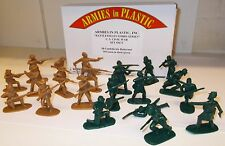 ARMIES in Plastic 5673-US Guerra civile - 10 Confederate & 10 Union SCALA 1:32