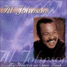 My Heart Is An Open Book - Al Johnson (CD 1999)