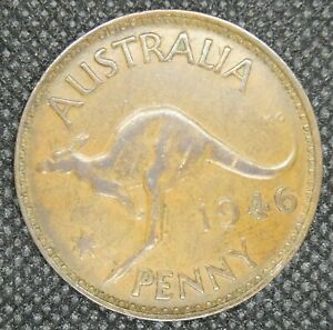 Lot 1)   1946 AUSTRALIAN PENNY