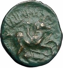 Philip II Alexander the Great Dad OLYMPIC GAMES Ancient Greek Coin Horse i48981