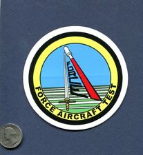 Decal FORCE AIRCRAFT TEST US NAVY PAX RIVER VX Squadron Flight Test Patch Image