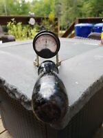 Vintage Wooden Handle Westinghouse Volts Meter