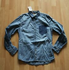 NEU Nudie Jeans,  Hemd  Shirt HENRY Ripped Pocket M