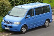 Autositzbezug maßgefertigt im Design TRENDLINE für VW T5 Transporter in  BLAU