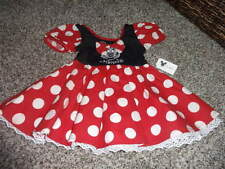 NWT NEW DISNEYLAND MINNIE MOUSE COSTUME DRESS 12M 12 MONTHS