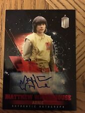 Topps Doctor Who Timeless 2016 Red Autograph Card Adric 09/10