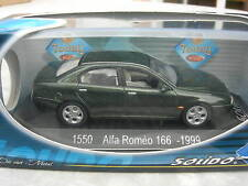 SOLIDO 1/43 METAL ALFA ROMEO 166- 1999 vert metal 1550!