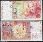 Variedad Error 2000 pesetas año 1992 Celestino Mutis BC / Spain Pick 164 F