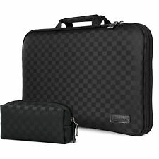 "Burnoaa 13"" 13.3"" Laptop Case Sleeve Memory Foam Bag Checked"
