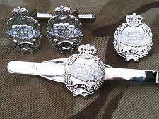 Royal Tank Regiment GEMELLI, badge, Tie Clip MILITARE Set Regalo