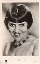 BD407 Carte Photo vintage card RPPC Femme woman Chanteuse actrice Marie Dubas