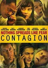 FREE SHIP Contagion NEW DVD Matt Damon, Laurence Fishburne 2011 outbreak