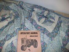 Minneapolis Moline M5 Gas Amp Lp Operator Manual