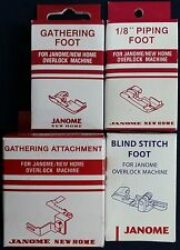 Janome Overlocker Feet & Attachments - Gathering Blind Stitch Piping 644D 204D