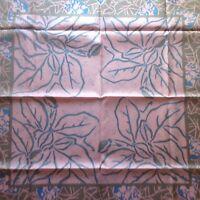 "Beautiful XL Handrolled ""Floral"" Thai Silk Scarf"