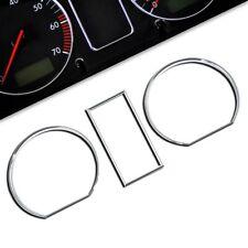 Tachoringe - VW Golf 2 + Jetta 2 - Chromringe Tacho Instrumente Ringe Chrom