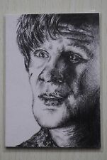 DR WHO 11TH DOCTOR (MATT SMITH) COMMISSIONED SKETCH CARD BY ALISON JAMIESON 2011