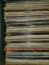 "Lot of 12 ~ Vinyl LP 33rpm Records 12"" mostly RANDOM pop. Have requests?"