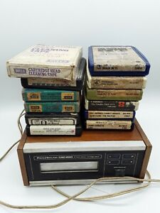 Vintage PRINZSOUND CSD820 8 track Player and Cassettes including Head Cleaner...