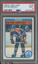 1982 O-Pee-Chee OPC Hockey #106 Wayne Gretzky Oilers PSA 9 MINT