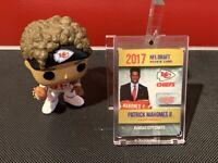 2017 NFL Draft Card Patrick Mahomes Rookie Gold Platinum #1 Kansas City Chiefs!!
