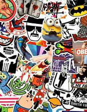 Lot of 10 Stickers for Skateboard Sticker Laptop Luggage Bike Decals mix*RANDOM*