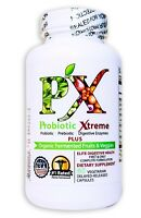 PX PROBIOTIC XTREME 4-in-1 Immune, Digestion, Bowel Health STOP COLDS, VIRUSES