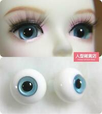 12mm  For BJD DOD AOD MK OK RD Doll Dollfie Glass Eyes Outfit Grey blue