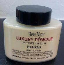 Ben Nye Banana Powder 1.5 oz. Authentic Luxury Face Powder
