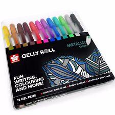 Sakura Gelly Roll Stardust Pen-brillante metalizado color billetera conjunto de 12