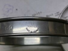 4 x Bourgeat Matfer Plain Cake Mousse Flan Rings 16cm Stainless Steel