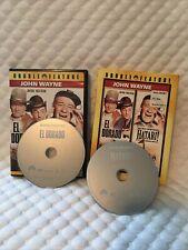 El Dorado / Hatari (DVD) RARE OOP John Wayne Collection Double Feature