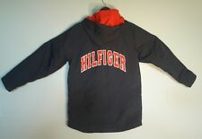 Vintage Tommy Hilfiger Women's Blue Spell Out Jacket Size XL WITH Flag Logo