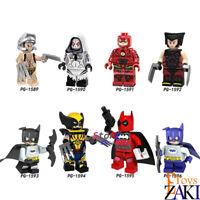Single Building Blocks Marvel Wolverine X-Men Weapon X Spider-Gwen The Flash