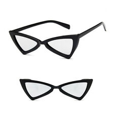 b014f6b216c Cat Eye Sunglasses Latest 90s Triangle vintage Grunge Retro pointy Shades SP  new