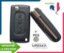 Coque Télécommande Plip Bouton Phare Citroen C4 Picasso Ce0523  Cle Sans Rainure