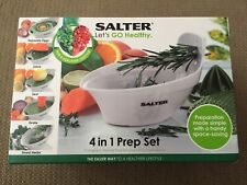 Salter 4 In 1 Food Prep Set With Juicer, Grater, Herb Stripper Brand New Boxed