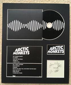 ARCTIC MONKEYS - Signed Autographed - AM - Album Display