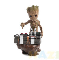 Guardians of the Galaxy Vol.2 Push Bomb Button Baby Groot Resin Figure Toy New