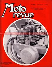MOTO REVUE 1780 Münch 1000 Mammut Salon d'Amsterdam LILAC 500 BMW R50 1966